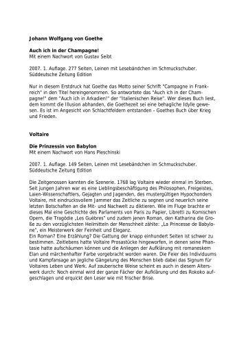 Die Bibliotheca Anna Amalia ist eine Schatzkiste der ... - WBG