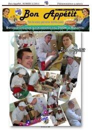 Bon Appétit , NUMER 3/2011 Piśmiennictwo u autora - Zespół Szkół ...