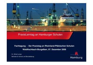 091207 PraxisLerntag an Hamburger Schulen - Praxistag