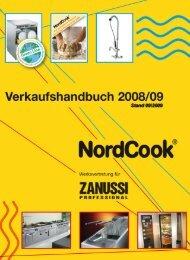 NordCook Verkaufshandbuch 2008/09 - das neue Programm mit 24 ...