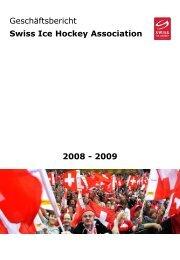 Geschäftsbericht 2008 - 2009 - Swiss Ice Hockey