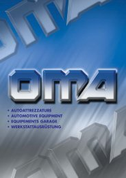 OMA Catalogo Generale 2007 - Oma-garagequipment.it