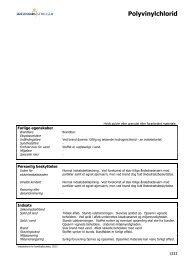 Polyvinylchlorid - Information om farlige stoffer