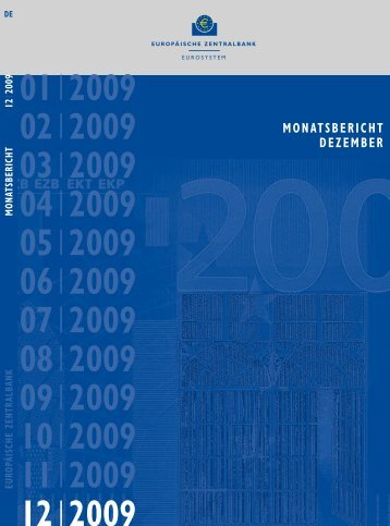 Monatsbericht Dezember 2009