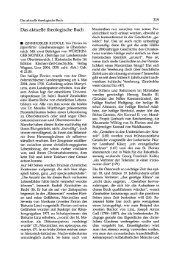 Das aktuelle theologische Buch - Katholisch-Theologische ...