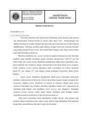 Modul Proses Pemurnian - Layanan Akademik Teknik Kimia ITB