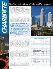 Eine Stadt mit außergewöhnlichem Marktzugang - Charlotte ...