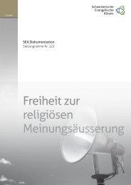 SEA Dokumentation - Verband Evangelischer Freikirchen und ...