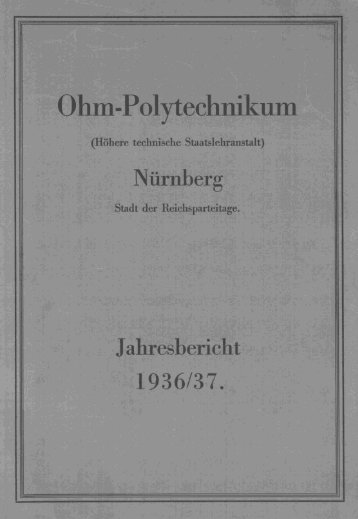 f - Georg-Simon-Ohm-Hochschule Nürnberg