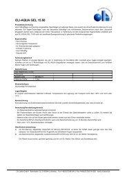 OLI-AQUA GEL 15.60 - Oli Lacke GmbH