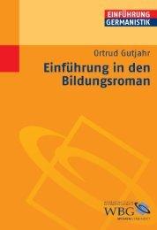 Leseprobe zum Titel: Einführung in den Bildungsroman - Die Onleihe