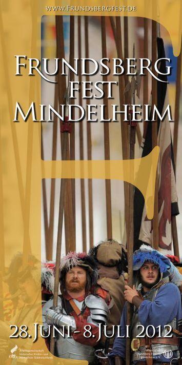 F undsbe g fe Mindelheim - Frundsbergfest