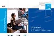 Erasmus Folder - EU-Förderungen