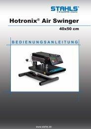 Hotronix® Air Swinger - STAHLS Europe GmbH