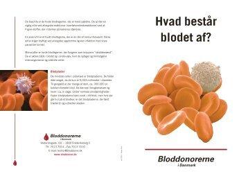 Hvad består blodet af? - Bloddonorerne i Danmark