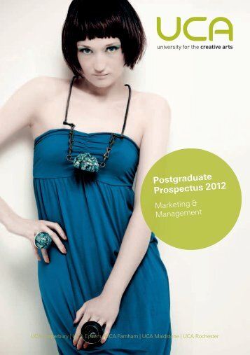 MA Fashion - Your Website - University for the Creative Arts