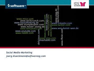 Social Media Marketing - Marketingclub Saar