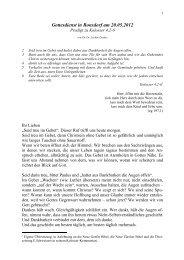 Kolosser 4,2-6.pdf - Evangelisch-reformierte Gemeinde Ronsdorf