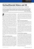 Hochauflösende Videos und 3D - MSC - Seite 2