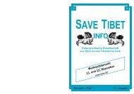 Dezember 2004 Ausgabe - Save Tibet