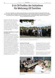 D-A-CH-Treffen der Initiativen für Mehrweg-OP-Textilien