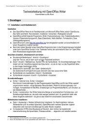 OpenOffice Writer [PDF | 123KB]