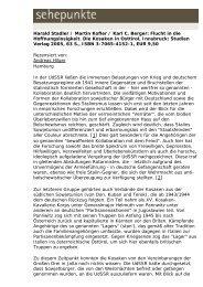 Harald Stadler / Martin Kofler / Karl C. Berger: Flucht in ... - Sehepunkte