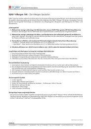 Detaillierte Technische Informationen über den IQAir Allergen 100 ...