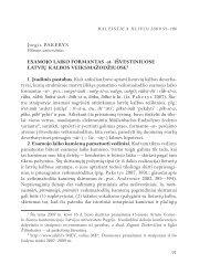 Jurgis Pakerys Esamojo laiko formantas ‑st‑ išvEstiniuosE latvių ...