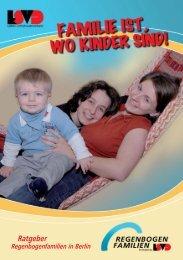 Familie ist, wo Kinder sind - Lesben- und Schwulenverband in ...
