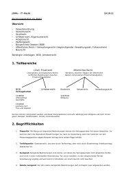 1. Teilbereiche 2. Begrifflichkeiten - Portfolio of Sandra Schreiner