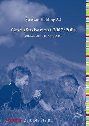 Geschäftsbericht 2007/2008
