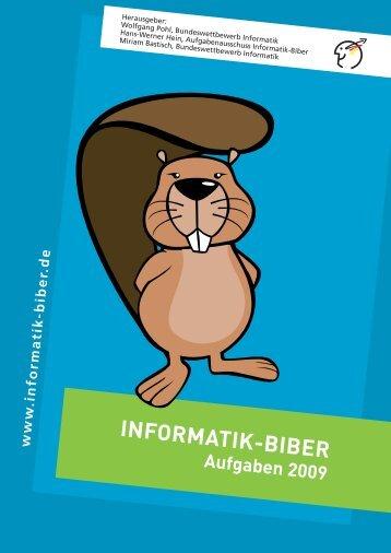 Aufgaben 2009 - Informatik-Biber
