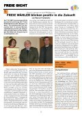 FREIE SICHT - Freie Wähler Erding-land - Page 2