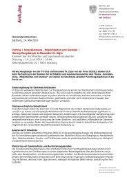 Programm und Anmeldung - e5-Salzburg