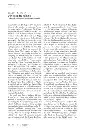 Der Idiot der Familie - Neue Gesellschaft Frankfurter Hefte