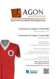 Katalog als PDF - Agon-Auktion