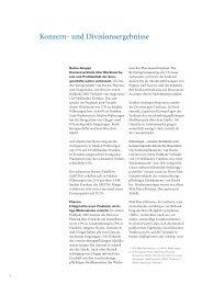 Konzern- und Divisionsergebnisse - Roche