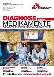 medIkamente - Ärzte ohne Grenzen