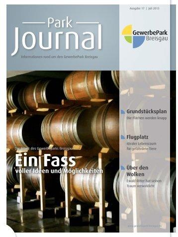 Ein Fass - GewerbePark Breisgau