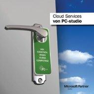 Cloud Services Broschüre herunterladen - PC-studio GmbH