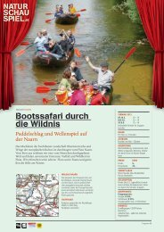 Infos als .PDF downloaden - NATURSCHAUSPIEL.at