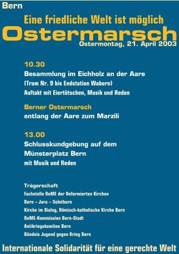 Flyer für den Ostermarsch als pdf