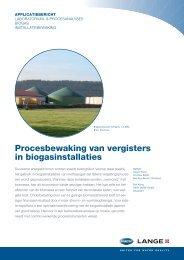Procesbewaking van vergisters in biogasinstallaties - HACH LANGE