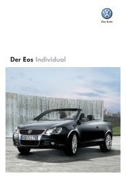 Der Eos Individual - Autohaus Perski ohg