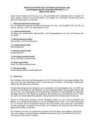 Musterausschreibung für Schießveranstaltungen des LJV NRW