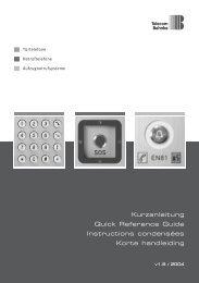 Instructions - Telecom Behnke