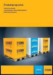 Produktprogramm - YTONG Silka