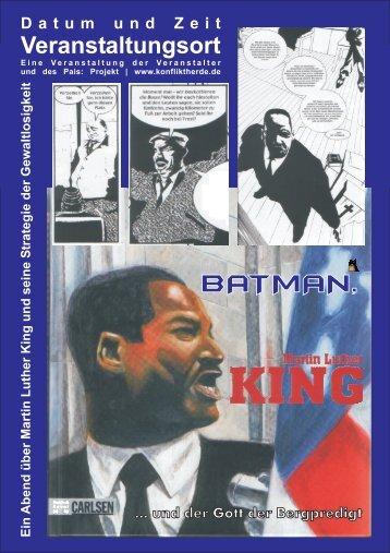 Martin Luther King Mappe - Konflikttraining an Schulen