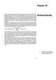 Kapitel 14: Kohlenhydrate